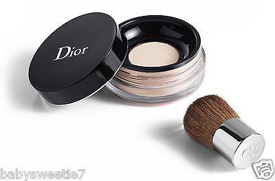 Dior Diorskin Forever & Ever Control Loose Powder 001 with Kabuki Brush NIB
