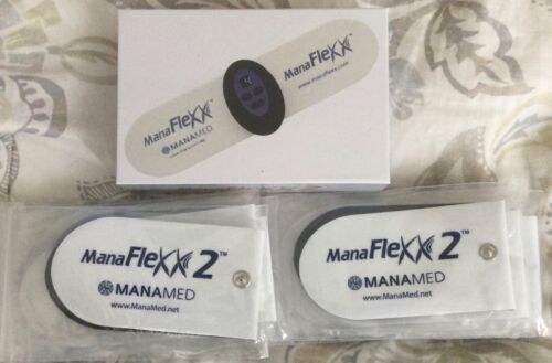 MANAFLEXX2  Neuromuscular Electrical Stimulation Unit With12 Replacement Pads