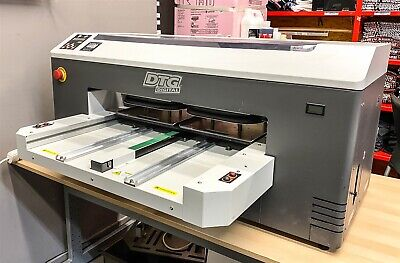 Dtg M2 Direct To Garment T Shirt Printer W 4 Platens Ink Factory Refurbuished