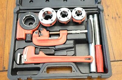 Rothenberger Pipe Threader Kit 70614 - Used - Incomplete Missing Pliers