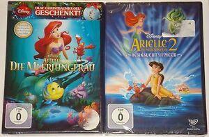 Arielle Die Meerjungfrau Diamond Edition und Arielle 2  Neu DVD Disney