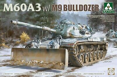 M60A3 w/ M9 Bulldozer Takom Model 1:35
