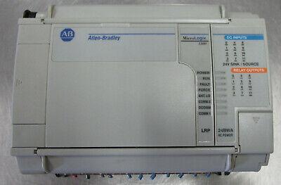 Allen Bradley 1764-24bwa Ser B Rev A Base Unit Micrologix 1500 Used Cut Out L8