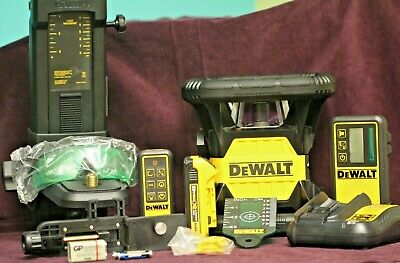 Dewalt Dw079lg 20v Green Tough Rotary Laser Level