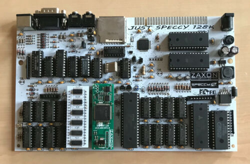 Just speccy 128k fully assembled board WITH SLAM ULA , ZX Spectrum 128 clone