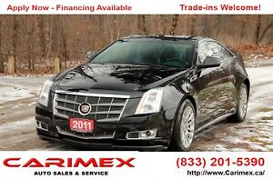 2011 Cadillac CTS ONLY 58K | AWD | CERTIFIED