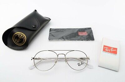 RAY-BAN LUXOTTICA Brille Mod. RB 6134 2501 49[]16 135 Panto Silver Eye Frame CE