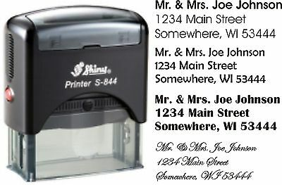 Address Stamp Self-inking
