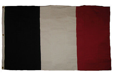 4x6 Embroidered France French Cotton Flag Large 4'x6' Banner Grommets 3 clips