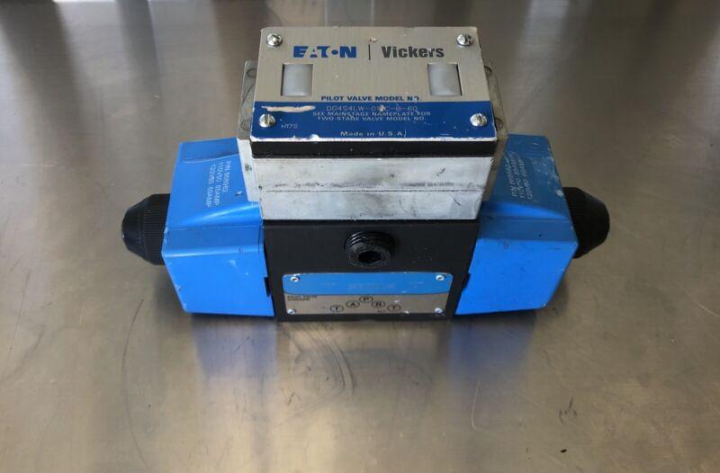 Eaton DG4S4LW-016C-B-60 Directional Control Valve Solenoid Actuated 4-Way NEW!!!