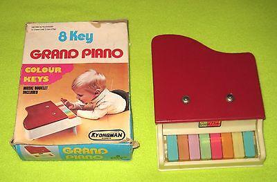 Kyongman 8 Key Grand Piano Colour Color Keys Kids Children Music Musical