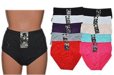 10 Stück Damen Slips Schlüpfer Pants Unterwäsche Unterhosen Übergröße große Größ (Unterwäsche Damen-große Größen)