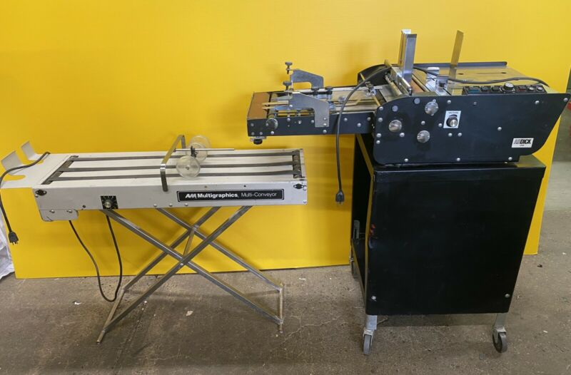 AB DICK 1200 ENVELOPE FEEDER Like Astro 2000, With Delivery Conveyor.