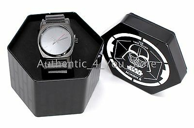NEW Nixon Star Wars Darth Vader Watch A509SW224400 Men's Time Teller w/ Gift Box