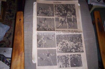 Walter Payton Chicago Tribune Photo Page 1978 Chicago Bears