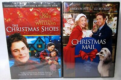 THE CHRISTMAS SHOES/ CHRISTMAS MAIL (2 DVD Set) >NEW< Holiday Family Movies ()