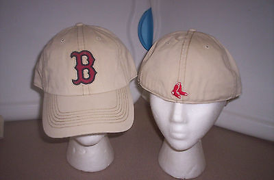 """MLB BOSTON RED SOX RUN DOWN MLB FRANCHISE """"B"""" FITTED HAT SIZE SMALL"""