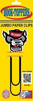 North Carolina State Mascot Logo on A jumbo paper clip - North Carolina State Paper