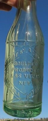Bottle  Best By A Dam Site  Coca Cola Bottling Co Nev Hoover   Boulder Dam 1930S