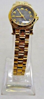 """Marc By Marc Jacobs MBM3257 Women's Gold Tone Analog Watch Size 6 1/2"""" Used"""