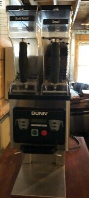 Bunn 35600.0020 Mhg Brewwise Stainless Dual Hopper Coffee Grinder 120v