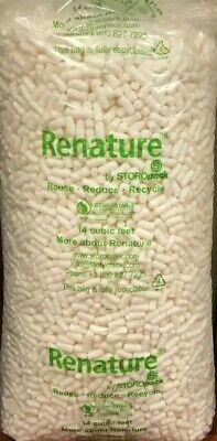 104 Gallon Anti Static Biodegradable Packing Peanuts 14 Cubic Feet - Local Pu