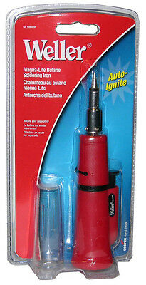Weller Ml500mp Auto-ignite Magna-lite Butane Soldering Iron With Piezo Ignition