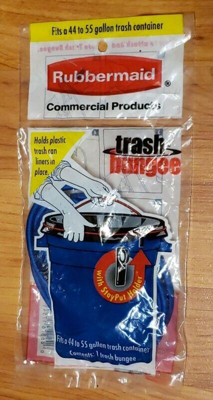 Vintage Rubbermaid Trash Bungee *NIP* Fits 44 to 55 Gallon