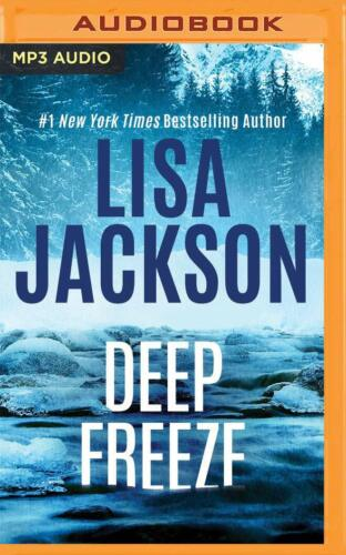 Lisa Jackson DEEP FREEZE (West Coast) Unabridged MP3-CD 16 Hour *NEW* Fast Ship!