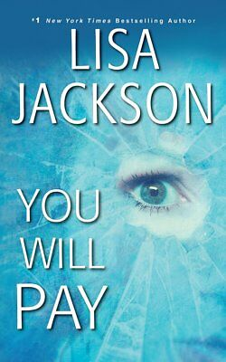 YOU WILL PAY unabridged audio book on CD by LISA JACKSON - Brand New! 16 Hours!