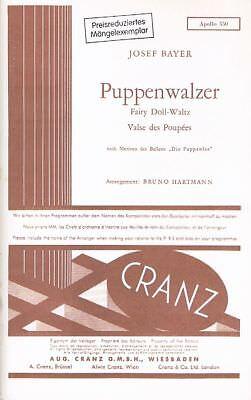 Josef Bayer: Puppenwalzer. Für Blasorchester. Stimmensatz - Noten