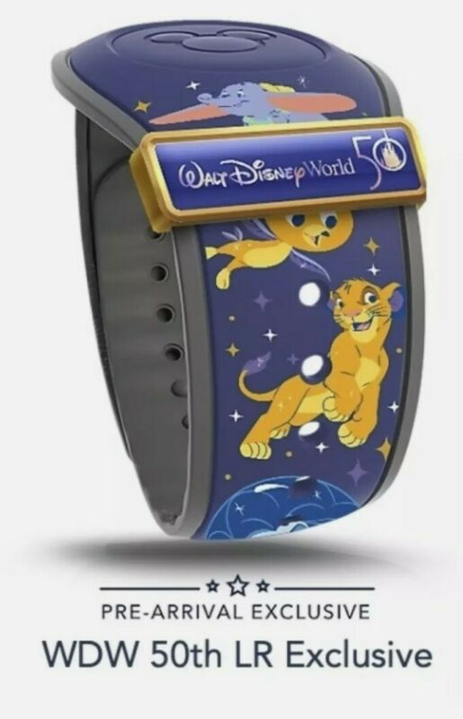 2021 Walt Disney World 50th Anniversary MagicBand w/ Slider NEW Limited Release