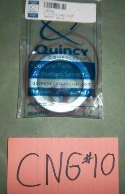 Quincy Air Cng Compressor O-ring Seal Kit Factory Parts 110776g