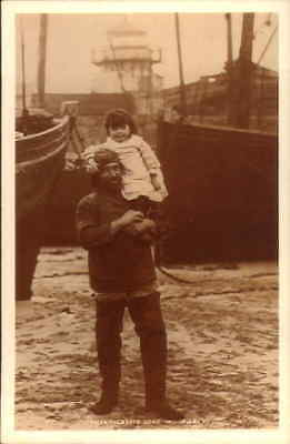 POSTCARD SOCIAL HISTORY YESTERDAYS BRITAIN FISHERMAN 1899 ST IVES CORNWALL