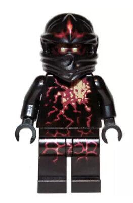 LEGO Ninjago Cole Black Energy Ninja Minifigure Mini Fig