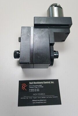 Star Cnc Sv20 New Front Back Counter Face Mill Unit New Sv12 Sv20 Ecas20