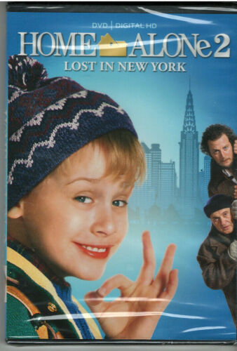 HOME ALONE 2 LOST IN NEW YORK (DVD, 2017, Includes Digital Copy) NEW