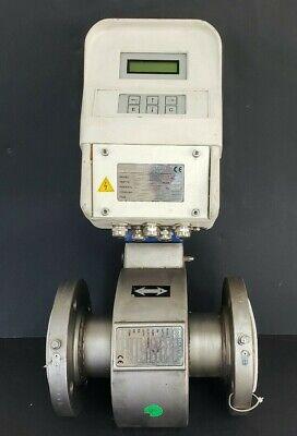New Master Meter Mc-208 Qaz-127 Flow Meter Controller W Mut-2200 Qac-120 Valve