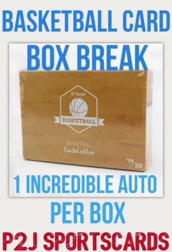 Hit Parade 19/20 Basketball Limited CARD BOX BREAK