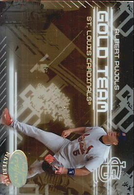2005 Leaf Certified Materials Gold Team - Finish Your Set  *GOTBASEBALLCARDS Gold Leaf Finish Set
