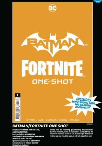Batman/Fortnite Comic One-Shot Special Edition PRE-SALE 10/27/21