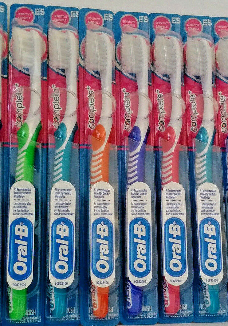 ORAL-B Complete Sensitive EXTRA SOFT Compact 35 toothbrushe