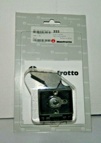 Manfrotto 323 Compact Rapid Connect Adapter