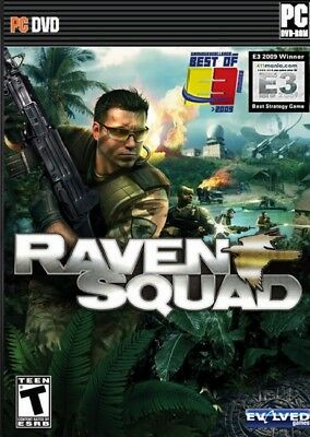 Computer Games - Raven Squad PC Games Windows 10 8 7 XP Computer fps action shooter rts strategy