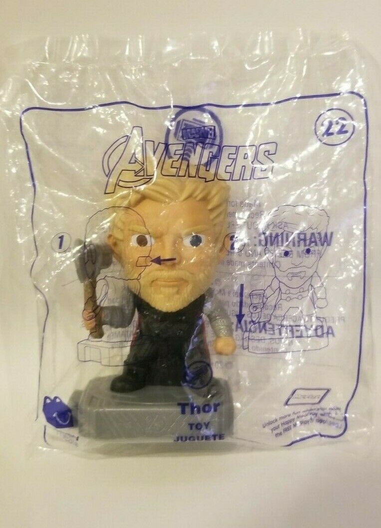 Avengers (2019) McDonalds Happy Meal Toys- Fast Shipping! #22 Thor