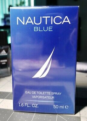 Nautica Blue Mens Fragrance Cologne 1.6oz Eau De Toilette Spray