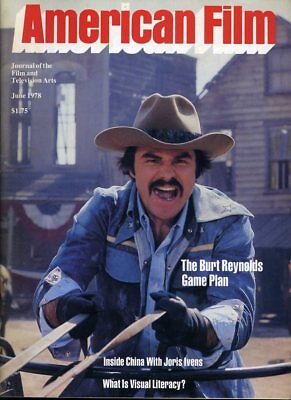 Burt Reynolds American Film June 1978
