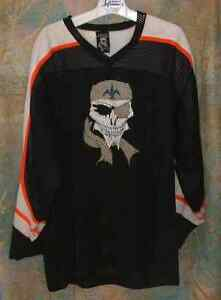 Chandail De Hockey Moto Motocyclette Motorcycle Pirate Jersey