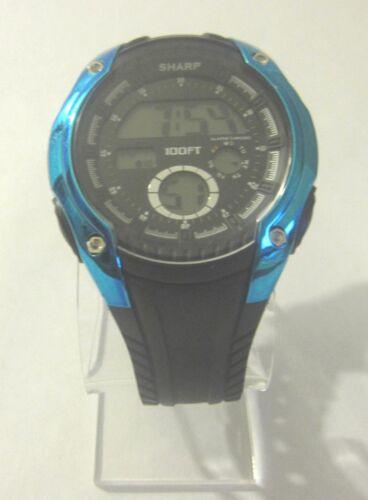Sharp Digital Water Resistance Backlight/Timer/Alarm Watch (SHP8910) A10