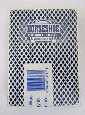 Horseshoe Casino Hotel Center MS Playing Cards Sealed
